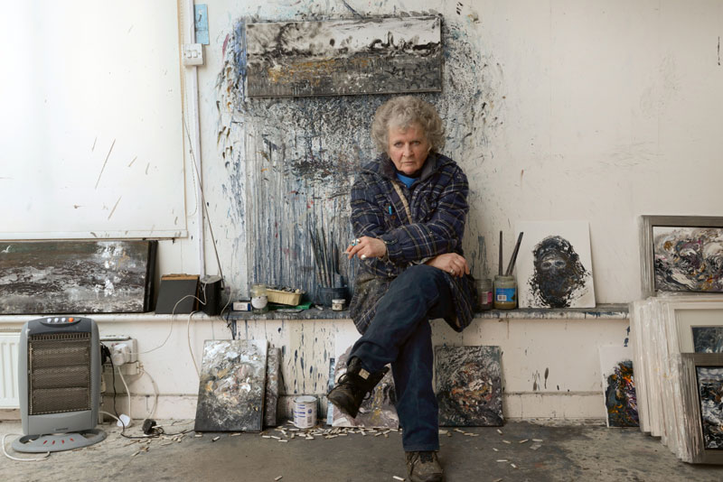 Maggi Hambling, painter and-sculptor